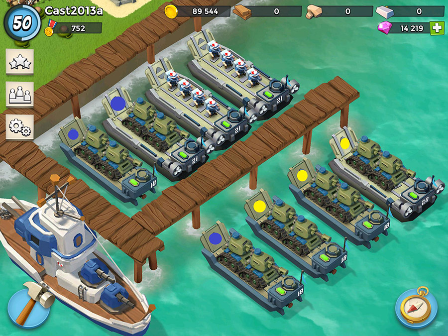 boom beach troop limits