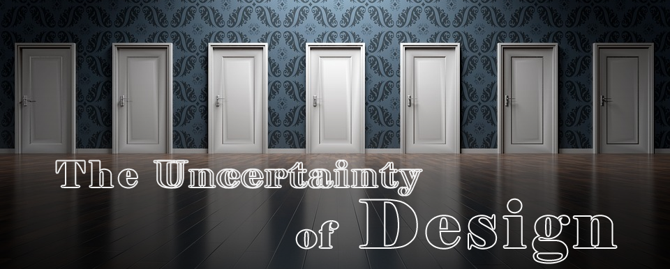 uncertainty of design title